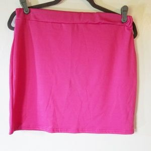 PRETTY LITTLE THING: Bodycon Skirt, Pink Size 10